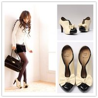 Wholesale Hot Sale Korea Ladies High Heels Ankle Boot For Big Girls Butterfly PU Leather Pumps Women Lady Bowknot Lovely Shoes Short Boots H1559