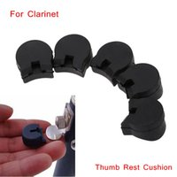 Wholesale 5pcs set Clarinet Rubber Thumb Rest Cushion Pads for Clarinet Oboe Reed Instrument Comfortable