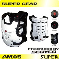 armor vests - Protective Gears gt gt Jackets Scoyco AM05 Motorcycles Motocross Chest amp Back Protector Armor Vest Racing Protective