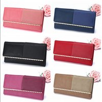 scratch card - Top Quality Women Leather Purse Genuine Leather Wallet Zipper Pocket Card Holder Water Proof Anti Scratch Woman Leather Purse LJJE349