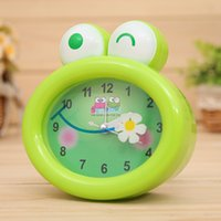 Wholesale Students Necessity Sweet Catoon Animal Style Alarms Frog Quarzt Clock Bells Kids Birthday Festival Gift Decoration sw309