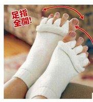 ankle treatment - 2016 Comfort Foot Alignment Treatment Socks The Sleeping Socks Happy Feet Socks Massage Five Toe Socks