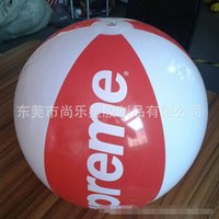 Wholesale DHL free Toddler kids PVC Inflatable swimming water fun ball Children beach Swimming toys Gear Floating ball summer beach