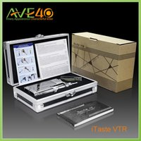 Cheap Innokin electronic cigarettes itaste VTR kit with 30s vaporizer ego atomizer 510 thread 100% original free shipping from AVE40