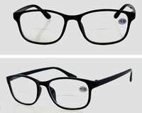 bifocal sun glasses - R8816 polarized lenses bifocal Plastic Reading Glasses Women Men Sun Readers With Case Cleaning Cloth