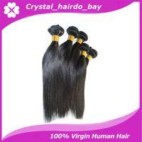 Wholesale 6a grade indian virgin hair extensions indian remy hair weave unprocessed indian straight virgin hair bundles