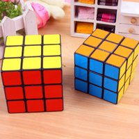 Wholesale Magic Cubes Magic Square puzzle cube Speed Puzzle2 Colors Available Educational Toys for Children Kids FreeShipping