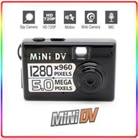 Wholesale Worlds Smallest HD Digital Video Camera Mini DV DVR x960 Black