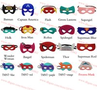 Cheap Costume Accessories Superhero masks Best Mask Free Size party pack