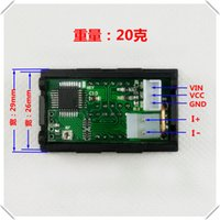 Wholesale DC0 V A need to buy shunts LED DC dual display digital current and voltage meter