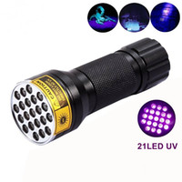 Wholesale SKU766 AloneFire NEW LED UV Light nm LED UV Flashlight black