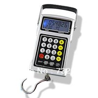 Cheap 50Kg 20g LCD Fish Hook Hanging Digital Weighing Scale price calculator keyboard