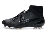 Wholesale Nike Men s Magista Obra FG Soccer Cleats soccer shoes Black