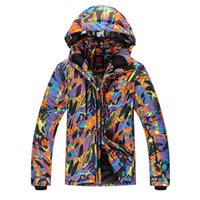 best ski coats - Best Quality Men s Snowboarding jackets Cotton Padded Male Skiing jacket Waterproof Breathable Outdoor Hiking Snow Coats