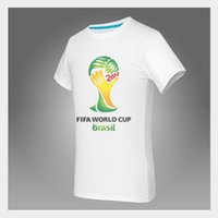 world cup soccer t-shirts - Brazil World Cup t shirt factory direct cultural shirt World Cup soccer fans commemorative T shirt fans