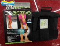 acupressure products - 2015 Beactive Pressue Point Brace Back Pain Acupressure Sciatic Nerve Be Active Professional Knee Brace Sleeves Calf Sleeves TV Products