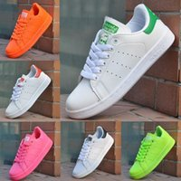 shoe factory - Factory Classic casual shoes new stan shoes fashion smith sneakers casual leather men women sport running shoes colors