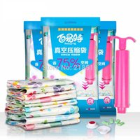 hand compression bag - Special High Quality Pack Vacuum Compression Bags Quilt Vacuum Storage Bag Hand Pump