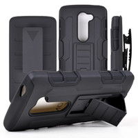 armor c - For LG G Vista2 H740 G4 C G4 C40 LS770 Tribute Future Armor Hybrid With Clip Belt Case Cover For LG LS775