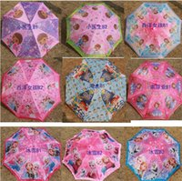 Wholesale Rv Children Umbrella TMNT umbrella and avengers umbrella spiderman umbrella Sofia umbrella Children Frozen Umbrella cm Series D247