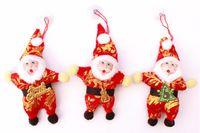 Wholesale high quality christmas elf on the shelf trees decoration santa claus Christmas Trees Pendant Christmas Gift Xmas Party Ornament