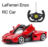 Wholesale Electronice Enzo La Ferrari Radio Remote Control Racing Car Drifting RC Cars High end Best Christmas Gifts Retail Package Free DHL
