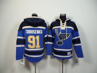 Wholesale tarasenko Jersey St Louis Blues Jersey Hoodies Hockey Jersey Sport Jerseys Embroidery Logos Blue Top Quality