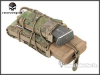 Wholesale EMERSON TACO Double Decker Magazine Pouch military army Utility Pouch EM6346