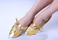 Wholesale Belly Dance Professional Flat Soft Heel Shoes Ballet Ballerina