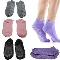 Wholesale Fashion Ladies Girls Women Sport Pilates Yoga Non Slip Grip Socks Colors