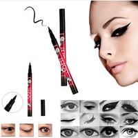 Wholesale Hot makeup H Pen Liner waterproof eyeliner Long Lasting Eye Makeup Cosmetic