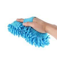 Wholesale 1pc Car Hand Soft Towel Microfiber Chenille Washing Towel Coral Fleece Hand Brush
