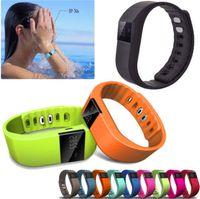 achat en gros de xiaomi intelligent-TW64 xiaomi band Smartband bracelet sportif intelligent Bracelet Fitness tracker Bluetooth 4.0 fit bit flex Montre ios android Smart Wristbands 02