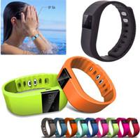 Wholesale TW64 xiaomi band Smartband Smart sport bracelet Wristband Fitness tracker Bluetooth fit bit flex Watch ios android Smart Wristbands
