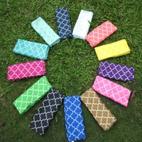 Wholesale Wholesales Blanks Quatrefoil Infinite Scarf For Adults Chic And Hot Jersey Scarf Via FedEx DOM106050