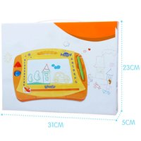 Wholesale 12pcs Children s Learning Favor Magentic Drawing Board Reusable Panting Doodle Pads With Seals kt123