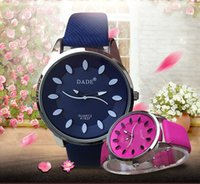 batteries list - 6 color fashion watches color watches round watch waterproof watches ms watches high school couples watch list box