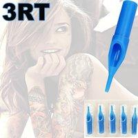 artist tips - 3RT Round Sterile Tattoo Tips Blue Disposable Tattoo Tips Round Liner Shader Tips For Professional Tattoo Artists