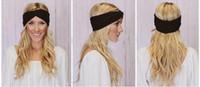 bandana fabric - 2016 New fashion Women Stretch Twist Headband Turban Sport Yoga Head Wrap Bandana Headwear Hair Accessories
