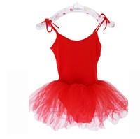 Wholesale Toddler Dancewear Ballet Tutu Dress Baby Girls Party Leotards Costume Girls Dress and drop shipping
