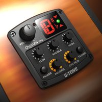 acoustic chorus - Cherub Acoustic Guitar Band EQ Equalizer LCD Tuner Guitar Preamp Piezo Pickup with Reverb Chorus Effects New Arrival order lt no track