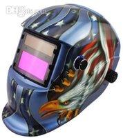 area view - Welding Soldering Welding Helmets Big view area Li Battery Solar auto darkening welding helmet weld mask for MIG MAG TIG MMA machine