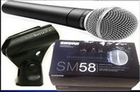 Wholesale 2015 new High quality SM LC SM58LC Clear Sound Handheld Karaoke Microphon