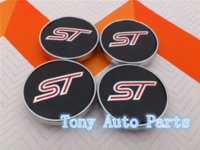 auto style tuning - mm ST for car tuning universal Wheel Center Caps Hub Cover emblem Badge car styling Auto accessories
