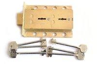 safe deposit box - Brass Safe Deposit Box Brass Dual Deadbolt Lock W Key