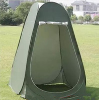 Wholesale Take a shower bath room tent warm tent outdoor mobile toilet WC winter fishing tent