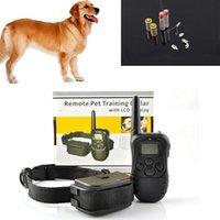 Wholesale sets For Dog M Remote Control Dog Training System LV Shock Vibra Remote Electric Dog Training Collar