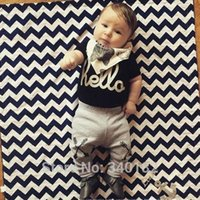 bebe xl - 2015 Fashion baby clothing baby boy clothes Short T Shirt Long Pants bebe baby boy newborn clothing set