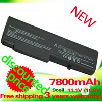Wholesale 7800mAH Laptop battery for Hp EliteBook p p w ProBook b b b b b b b