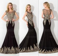 Wholesale Bing Shinny Crystal Beads Lace Pageant Dresses Sexy Crew Neck Cap Sleeves Peacock Mermaid Evening Dresses Formal Party Dresses BZP0683